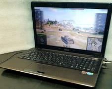 Gaming laptop Asus A52J (core i7, 8 gig, powerful video card)